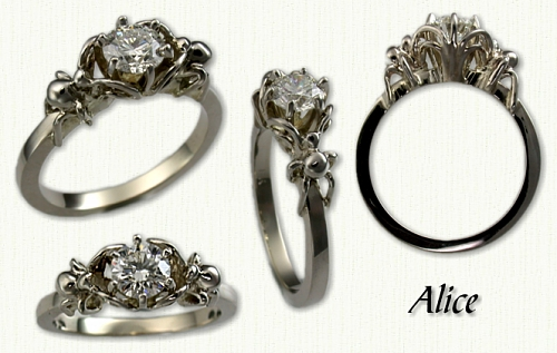 jewellery personalized rings diamond engagement made custom