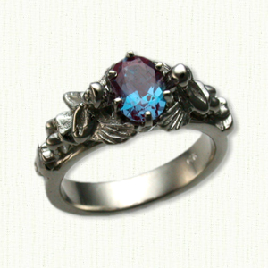 Custom AngelEngagement Rings All Colors Gold Platinum