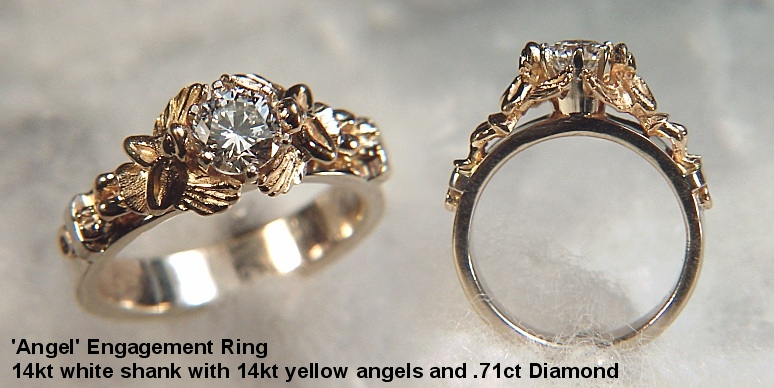 jewellery engagement ring rings custom diamond lab man made wedding and