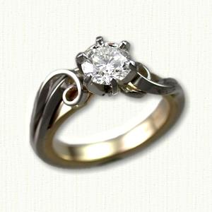 Unique Custom Made Engagement Rings Greta